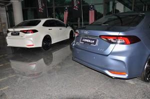 Toyota Corolla_Rear View_Malaysia_2019