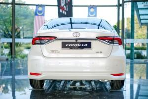 Toyota Corolla Altis_Rear_Malaysia
