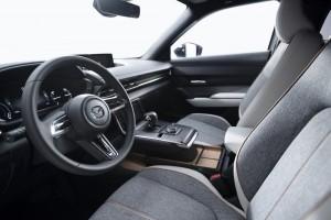 MAZDA MX-30_EV_Front Seats_Dashboard_Interior (European specification)