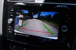 Volkswagen Golf GTI Mk 7.5_Reverse Camera View