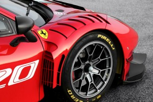 Ferrari 488 GT3 EVO 2020 has larger vents on the front fenders