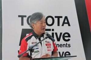 UMW Toyota Motor_Akio Takeyama_Chief Motorsports Officer_Deputy Chairman
