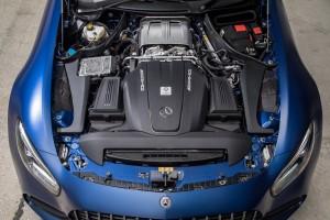 Mercedes AMG GT C_4.0 V8 Turbo Engine