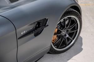 Mercedes AMG GT R_Brake Caliper_Front Wheel_Air Curtain