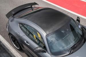 Mercedes AMG GT R_Carbon Fibre Roof & Rear Wing