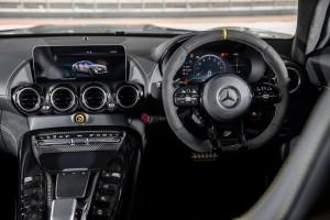 Mercedes AMG GT R_Cockpit_Steering Wheel_Multimedia Display