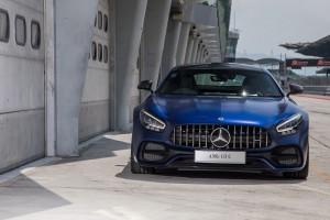 Mercedes AMG GT C_Fascia