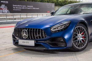 Mercedes AMG GT C_Front Grille_Headlights