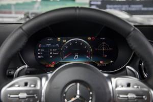 Mercedes AMG GT C_Meter Cluster_Multi Info Display