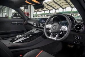 Mercedes AMG GT C_Steering Wheel_Cockpit