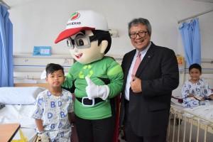 Perodua Mascot Adam_Dato' Zainal Abidin Ahmad_Selayang Hospital_CSR