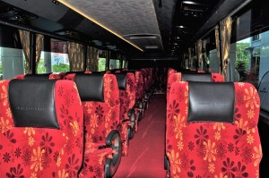 Ekspres Perdana_Scania Bus_Seats_Upper Deck