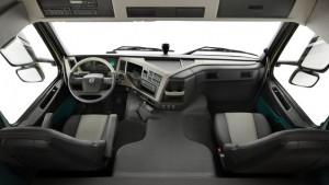 Volvo FM productivity inside cabin