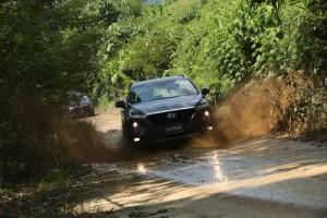 Hyundai Santa Fe_Off-roading_SUV