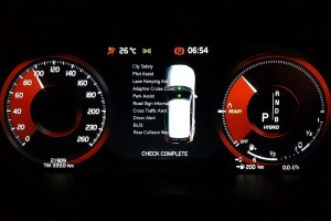 Volvo XC60 T8_Intellisafe_Digital Display_Meter Cluster