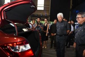 Perodua Bezza_Facelift_Tan Sri Asmat Kamaludin_Dato Zainal Abidin Ahmad