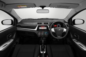 Perodua Bezzza_Dashboard_1.3 X_Facelift