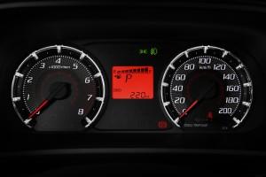 Perodua Bezza_Facelift_Meter Combi_1.3 X