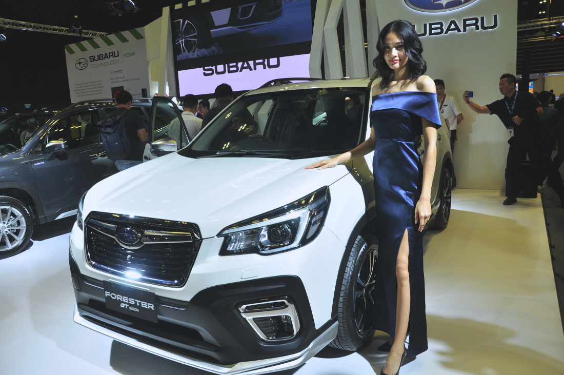 Subaru Forester Gt Edition Launched At Singapore Motorshow 2020 Autoworld Com My