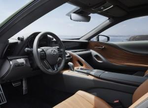 Lexus LC SE Interior_Steering Wheel