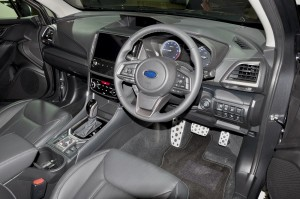 Subaru Forester_Interior_Steering Wheel_Dashboard