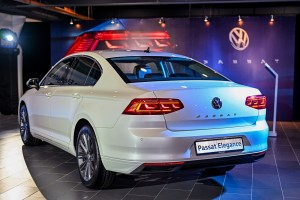 The New Volkswagen Passat Elegance_Rear View_VW