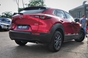 Mazda CX-30_Crossover_Rear View
