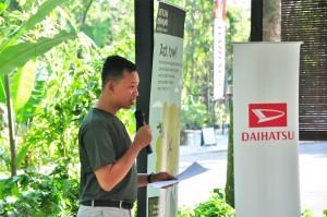 Daihatsu Malaysia_Muhammad Fahmi_Rewilding Roadshow_Free Tree Society Kuala Lumpur_Taman Tugu Project