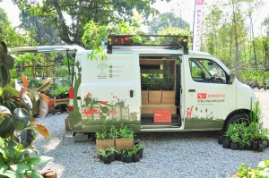Free Tree Society Kuala Lumpur_Rewilding Roadshow_Daihatsu Gran Max Panel Van
