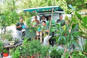 Daihatsu Malaysia_Rewilding Roadshow_Free Tree Society_Taman Tugu_Gran Max Panel Van