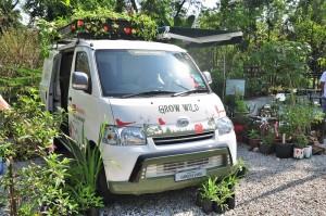 Daihatsu Gran Max Panel Van_Green Van_Free Tree Society Kuala Lumpur_Rewilding Roadshow