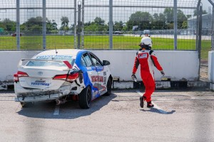 Toyota Gazoo Racing_Vios Challenge_Malaysia_Accident_Damage