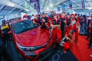 Toyota Gazoo Racing Festival_Vios_Celebrities