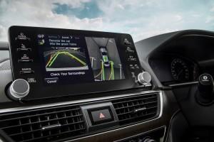 2020_Honda Accord_Interior_Park Assist_Display_Screen