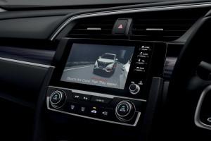 Honda_7 inch Display - LaneWatch