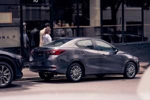 Mazda 2_Sedan_2020_Rear View
