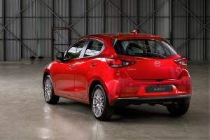 Mazda 2_Hatchback_2020_Rear View