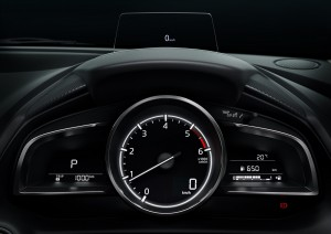 Mazda2_Head-Up Display_Information Display_Tachometer_Instrument Cluster