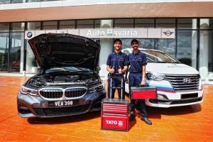 BMW_Auto Bavaria i-Service_Mobile Service Van_Technicians