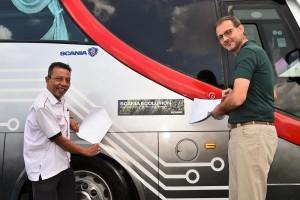 Scania Ecolution Partnership Agreement_Politeknik Sandakan Sabah_Bus