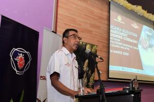 Politeknik Sandakan Sabah_Tajul Ariffin Mohamed Arif_Scania Ecolution Partnership Agreement