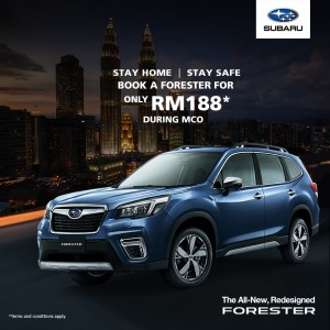 Subaru Forester_RM188_Online Booking_Malaysia