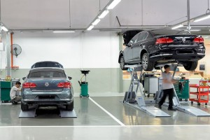 Volkswagen_Service Centre_Aftersales_Service Bay_Hoist_Malaysia