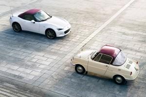 Mazda 100th Anniversary Special Edition_MX5 Roadster_R360 Coupe
