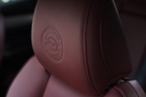 Mazda 100th Anniversary Special Edition_Headrest_Logo