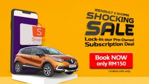 Renault Pre-Owned Captur Subscription Plan_Shopee Promo_Malaysia