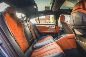 BMW 840i Gran Coupé M Sport (17)_Rear Seats_Sunroof