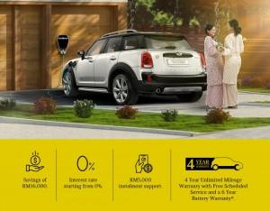 MINI Malaysia_MINIMISE Campaign_Countryman Plug-in Hybrid eAll4