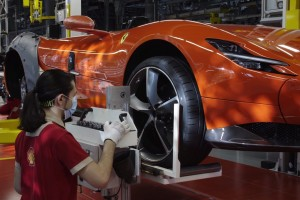 Ferrari Restarts Production_Italy_2020_Pandemic