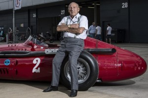 Sir Stirling Moss_Maserati 250F_Racing